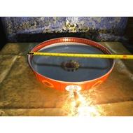 大同磁器紅福壽大羹盤(11吋)