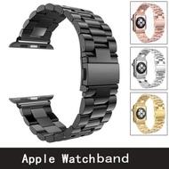 Rose Gold Luxuryสายคล้องคอสแตนเลสสำหรับApple Watch 3/2/1 42 38 Mmสร้อยข้อมือนาฬิกาข้อมือสำหรับนาฬิกาอุปกรณ์เสริม788