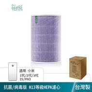 怡悅HEPA濾心(抗菌版)適用米家 小米 1代/2代/2S/3代/ Pro 空氣淨化器(小米清淨機專用)