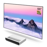 Xiaomi Fengmi Laser TV 4K Ultra Short Throw Projector with Grandview Ambient Light Rejection Screen 100
