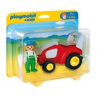 Playmobil 摩比 123系列 6794 農場牽引機 【鯊玩具Toy Shark】