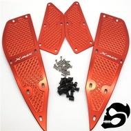 For Xmax 300 Xmax 250 Modified Accessories Cnc Aluminum Alloy Pedals Foot Pad