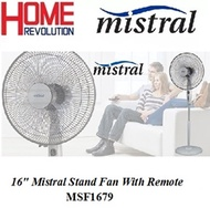 MISTRAL MSF-1679R 16 Mistral Stand Fan With Remote