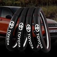 Toyota豐田專 方向盤套 ALTIS VIOS YARIS WISH CAMRY 真皮方向盤套 RAV4 方向盤皮套