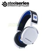 SteelSeries Arctis 7P 無線耳麥(白)/無線2.4G/ClearCast雙向麥克風/Arctis 音效/二年保