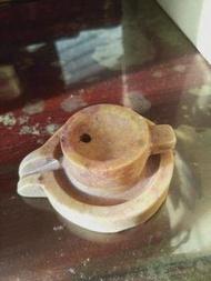 早期老石磨 擺飾品