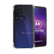 VXTRA Motorola MOTO One Vision Plus 減震防護空壓氣墊殼 防摔殼 手機殼