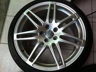 AUDI 奧迪 RS4 原廠19吋鋁圈 含胎