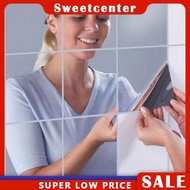 Mirror Wall Stickers Tiles Sticker Mirror Wall Paper Mirror sweetcenter.ph SWEETCEN
