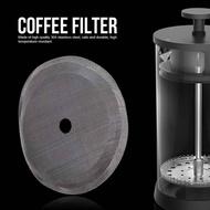 ECFRDR Reusable เครื่องทำกาแฟเป็นมิตรกับสิ่งแวดล้อมสแตนเลสสตีลชาตัวกรองตัวกรองตัวกรองกาแฟแบบตาข่ายอุปกรณ์ครัว