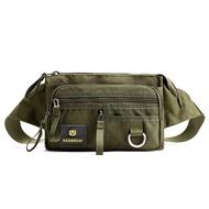 คุณภาพสูงไนลอนกระเป๋าเข็มขัดชาย2020แฟชั่นกระเป๋าคาดเอวทหารกระเป๋าเด็กกระเป๋า Bum Handy กระเป๋าคาดเอวกระเป๋าคาดอกสำหรับเดินทางชาย