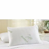 Bamboo Memory Foam Pillow Jumbo/Queen