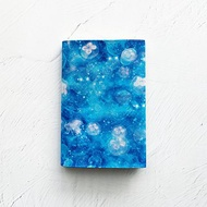 Book Cover GALAXY Jellyfish / paperback / Fake leather / sea / star