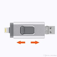 128GB 256GB 512GB 1TB 2TB 3 in 1 USB Flash Drive Memory Stick for iPhone iOS OTG Android Windows PC for iPhone 5, 6, 6S, 7, 7S, 8, 9, X, XS, XR & IPad 3, 4, 5, 6, Pro (256GB)