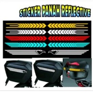 Cutting STICKER Car STRIPING Arrow Reflective Stickers Car Variation Stickers