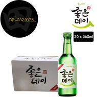 Goodday Original Soju, 20x360ml