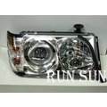 ●○RUN SUN 車燈,車材○● 全新 BENZ 賓士 1985~1995 奔馳 W124 E-CLASS 一體式 晶鑽魚眼投射大燈
