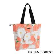 【URBAN FOREST 都市之森】樹-摺疊托特包/側肩包(虞美人)