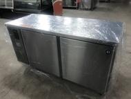 達慶餐飲設備 八里二手倉庫 全新商品 HOSHIZAKI企鵝牌5尺冷藏工作台冰箱