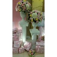 花花手作材料//布置婚禮''''編號M196-----塑膠羅馬柱(1400元)