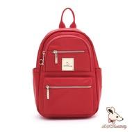 B.S.D.S冰山袋鼠 - 微醺小調 - 多口袋設計迷你後背包 - 薔薇紅【H005R】