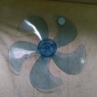 14吋 5片葉 電風扇葉片中孔 前面平頭