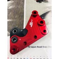 EQ摩托物流 JS 降車身座 轉接座 通用中置避震器 (增高/降低) SMAX SMAX專用 黑/紅