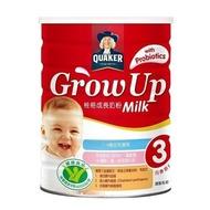 桂格grow up 成長奶粉三益菌配方1500g