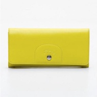 Longchamp Le Pliage Cuir Long Flap Wallet