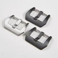 316สแตนเลสClaspอุปกรณ์เสริม18 20 22 24มม.สายนาฬิกาเงินสีดำนาฬิกาสำหรับHuawei Casio armani