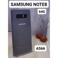 【承靜高雄】NOTE8 64G 幻紫灰 二手機 9成新 可舊機貼換 Samsung 非NOTE9 A566