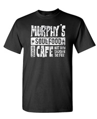 Murphy's Soul Food Cafe - Brothers Jake - Mens Cotton T-Shirt