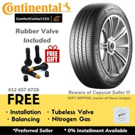 【In Stock】Continental ComfortContact CC6 New Tayar Tyre 175/65R14 185/60R15 195/55R15 195/60R15 215/60R16 185/55R16 205