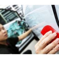 汽車貼膜1米DIY套組【長度1米的超透明保護膜+施工隔離液+刮板】 汽車保護膜DIY套組 汽車包膜教學 貼膜材料