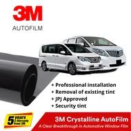 3M Crystalline Tint for MPV M/L