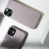 皮革手機殼 iPhone 11/Pro/Max 灰 可加購客製刻字禮物