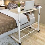 簡易筆記本電腦桌60x40cm可移動升降電腦桌 床上書桌 可移動懶人桌 床邊桌【AM130】◎123便利屋◎