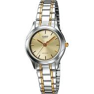 Casio นาฬิกาข้อมือผู้หญิง สายสแตนเลส รุ่น LTP-1275 ของแท้ประกันศูนย์
