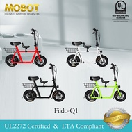 Mobot Official FIIDO Q1 UL2272 Certified Electric Scooter ✅E Scooter FIIDO Escooter ✅ LTA Compliant