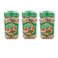 貼心寵兒 - 高纖寵物鼠營養套餐-三入組(鼠飼料/倉鼠)