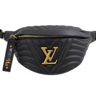 【Louis Vuitton 路易威登】LV M53750 NEW WAVE 小牛皮腰包/胸口包(現貨)