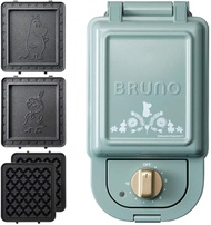 BRUNO Hot sand maker + waffle plate 2 kinds plate­ set (moomin, single) Japan­ Import