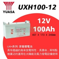 24H內出貨 限時優惠 免運 湯淺UXH100-12I 高規格優質品 YUASA 12V 100AH深循環電池電瓶