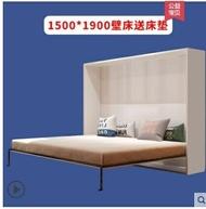 折疊床 木聰定制折疊床 隱形床壁床雙人單人簡易正翻木板床隱藏床CH-004 走心小賣場