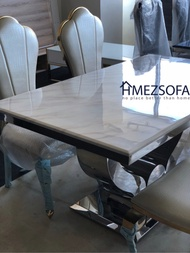 [MARBLE SPECIAL DEALS!] Dining Table Set / Coffee Table / Side Table at PROMOTION PRICE. LIMITED!