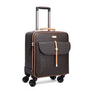 """คุณภาพสูง16 """"24"""" นิ้ว Retro กระเป๋าเดินทางสตรีกระเป๋าเดินทางที่มีกระเป๋าถือกระเป๋าเดินทางมีล้อชุดบนล้อ"""