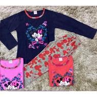 Borong Wholesale 12PCS (BOLEH PILIH) Pyjamas Long sleeve Kids pajamas set baju tidur budak