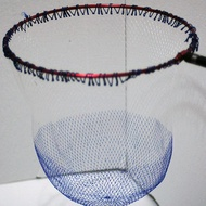 現貨☀️ 折疊 圓 ☀️鈦合金磯玉網框 磯釣 摺疊撈網 👉送 高級網