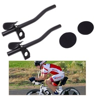 Bike MTB Road Time Trial Triathlon Racing Rest Handlebar TT Aero Bar Aerobar New