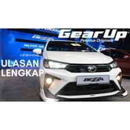 ray perodua bezza gear up gearup bodykit body kit 2020 betong bodykit
